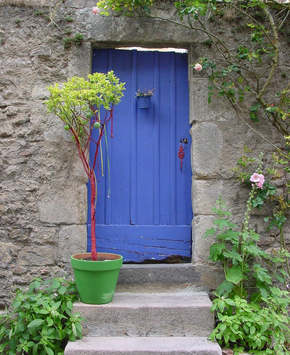 La Porte bleue - Autun France