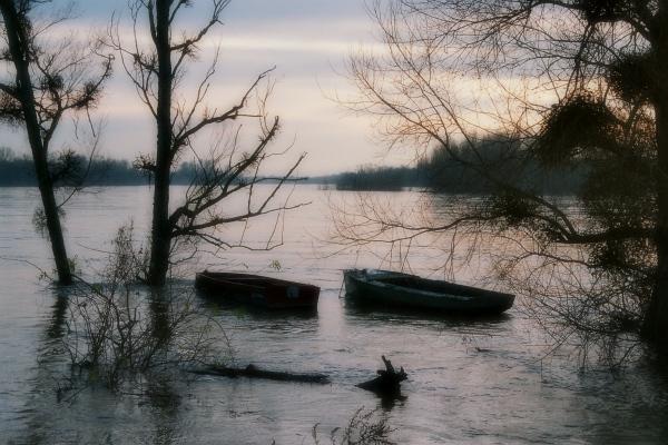 Les barques d'Automne