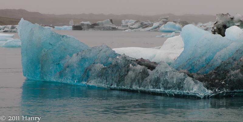 Jökulsárlón gletsjermeer IJsland  Iceland