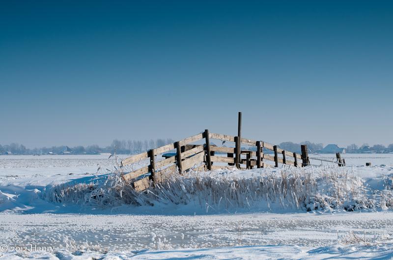 ijs sneeuw hek ice snow fence