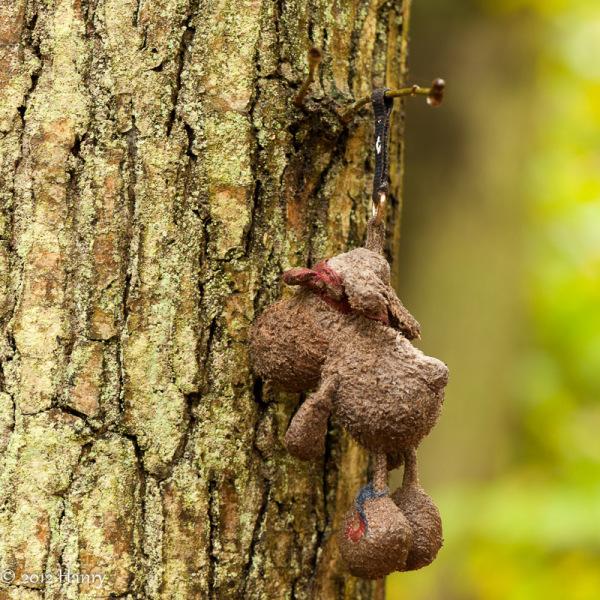 sleutelhanger bos verloren keychain forest lost