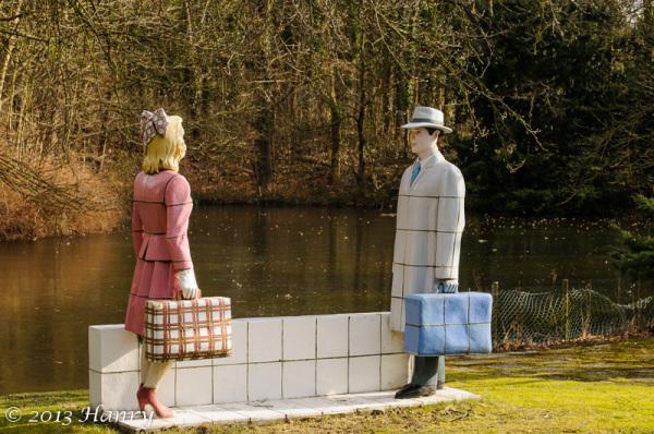 duin en bosch castricum statues berry holslag