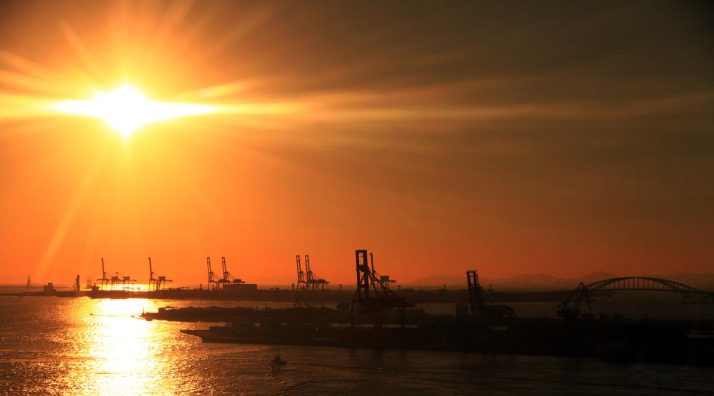 Osaka Sunset