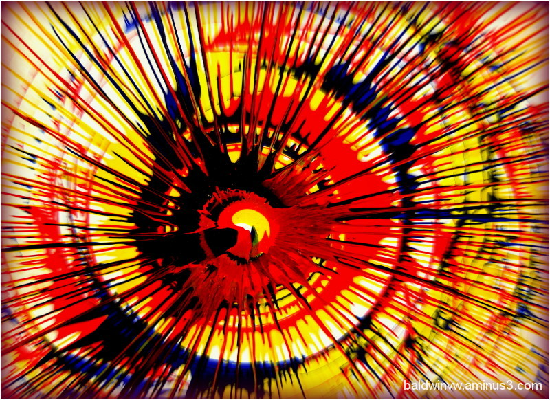 Color explosion ...