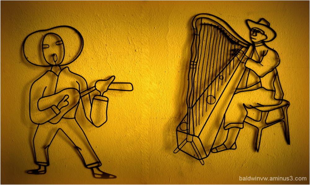 Wire musicians ...