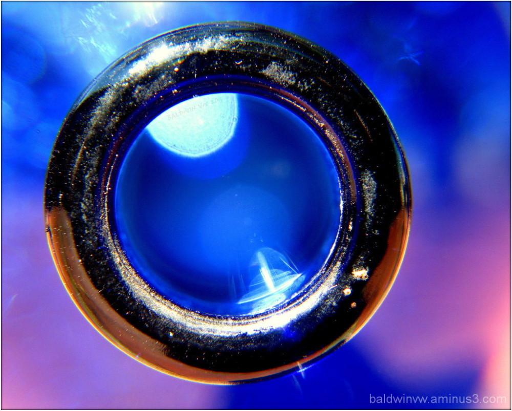 Fountain - blue ...