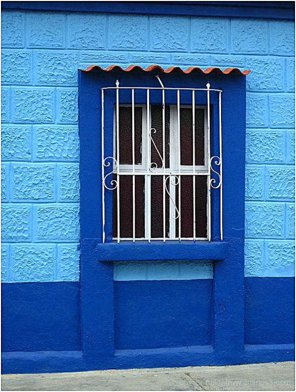 Blue on blue ...