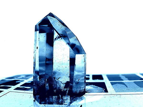 Crystal blue ...