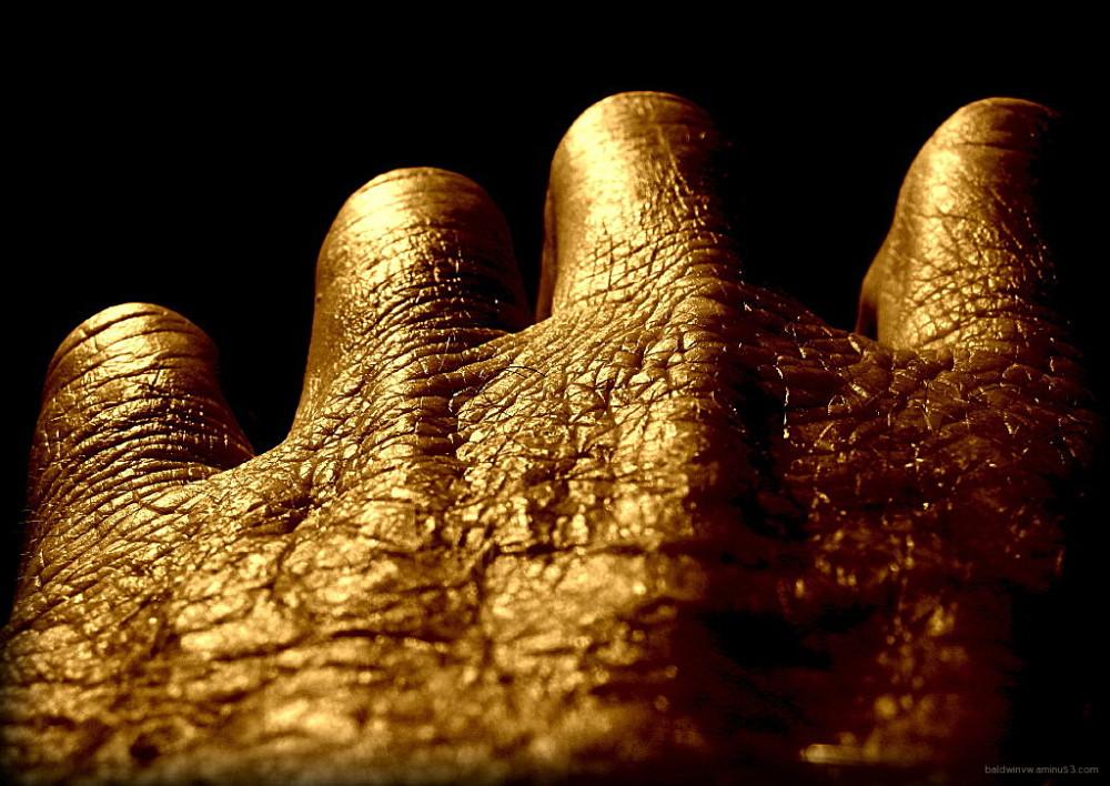Golden wrinkles ...