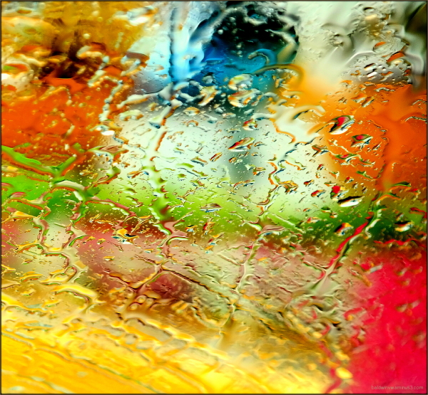 Colorful rain ...