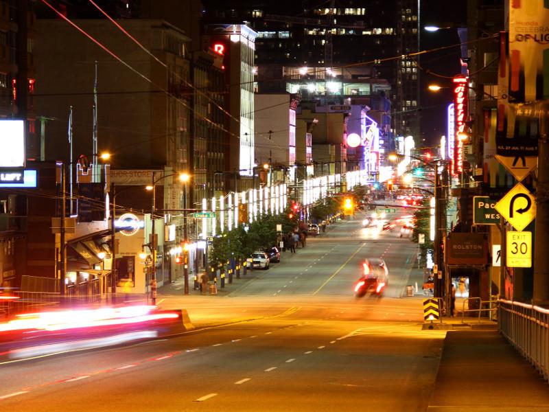 Granville Street, Vancouver, Canada