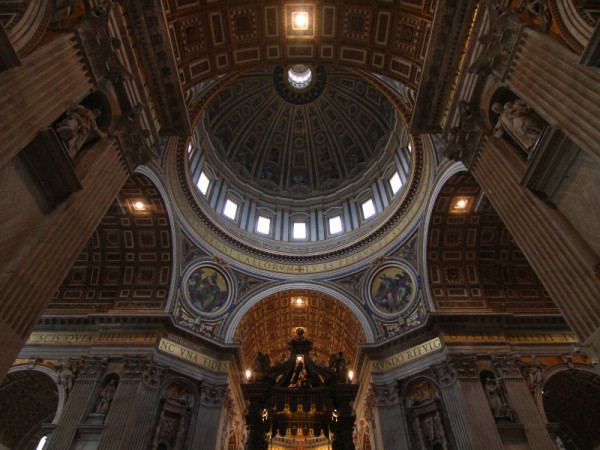 St Peter's Basilica, Vatican City