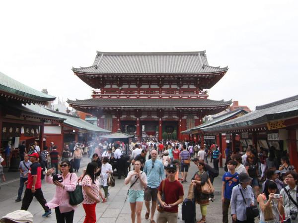Asakusa Shrine, Tokyo, Japan