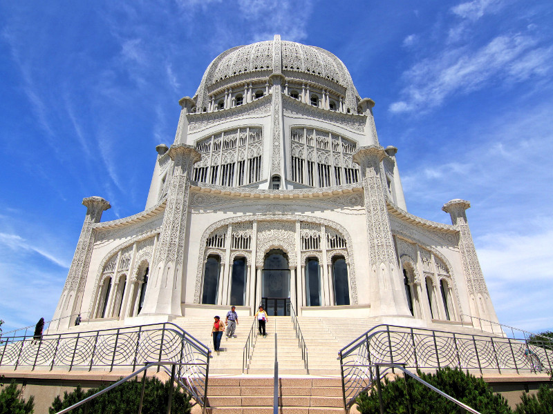 Baha'i House of Worship, Wilmette, United States