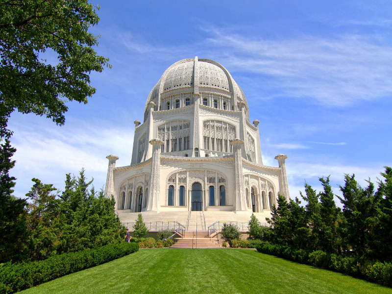 Baha'i House of Worship, Wilmette, United States