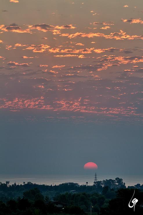 sunrise طلوع خورشید