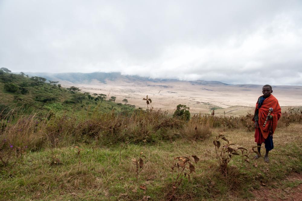 Lonely Massai