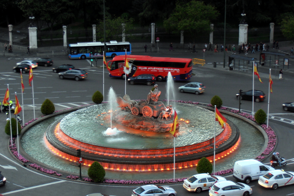 Cibeles (famous fountain in Madrid-Spain)