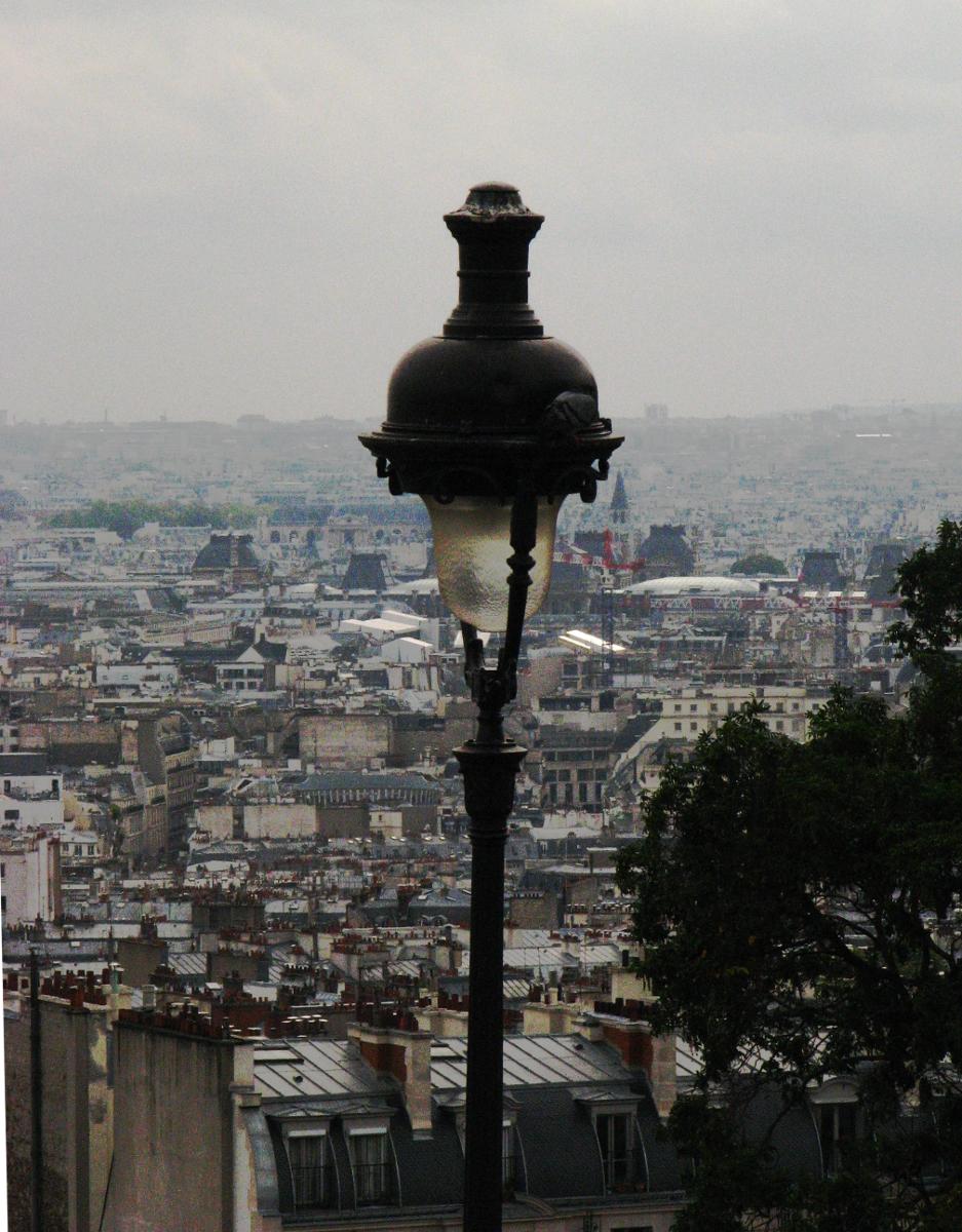 illuminating in Montmartre (Paris)