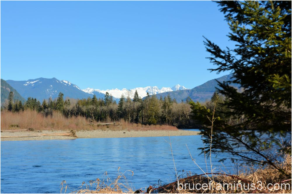 A beautiful day on the Skagit River