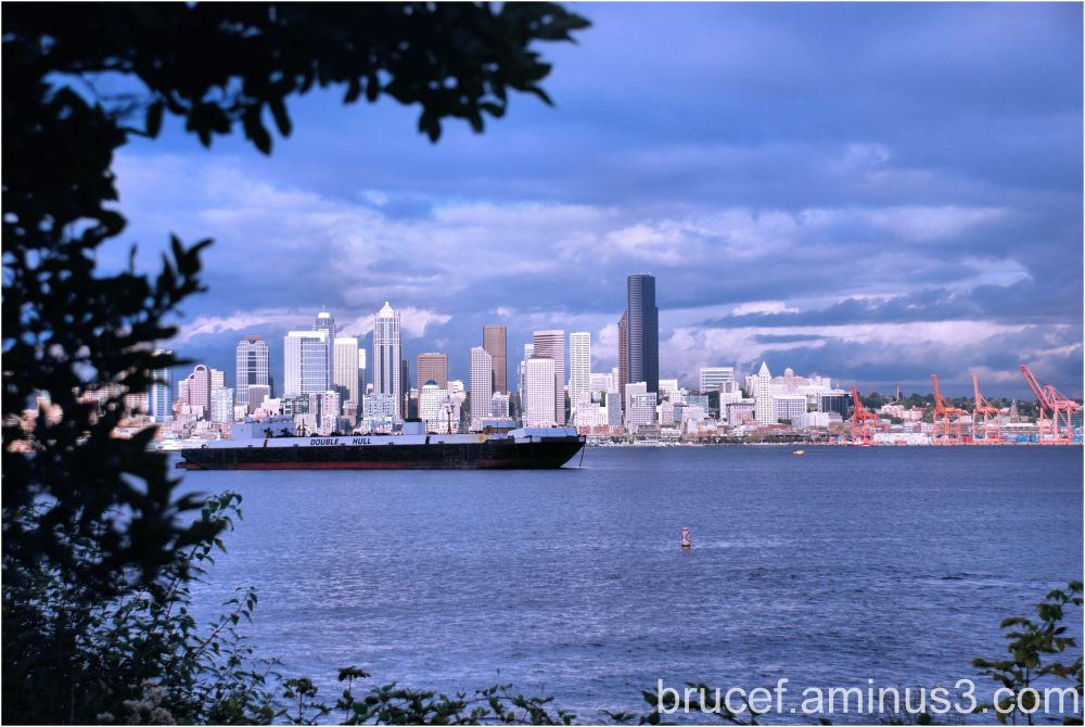 Seattle from West Seattle