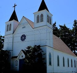 Sacred Heart Catholic Church  Built 1899