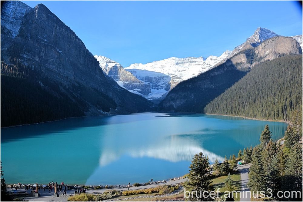 Lake Louise in the Morning