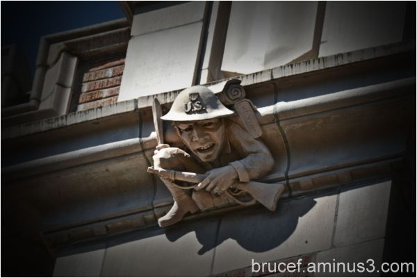 Gargoyle at University of Washington