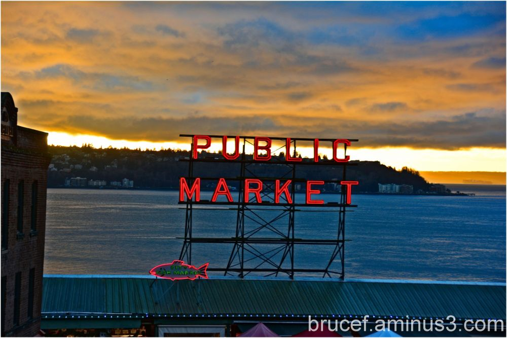 The Market   - Pike Place Market