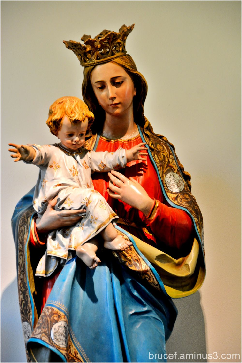 Madonna and Child at Mount Angel Abbey
