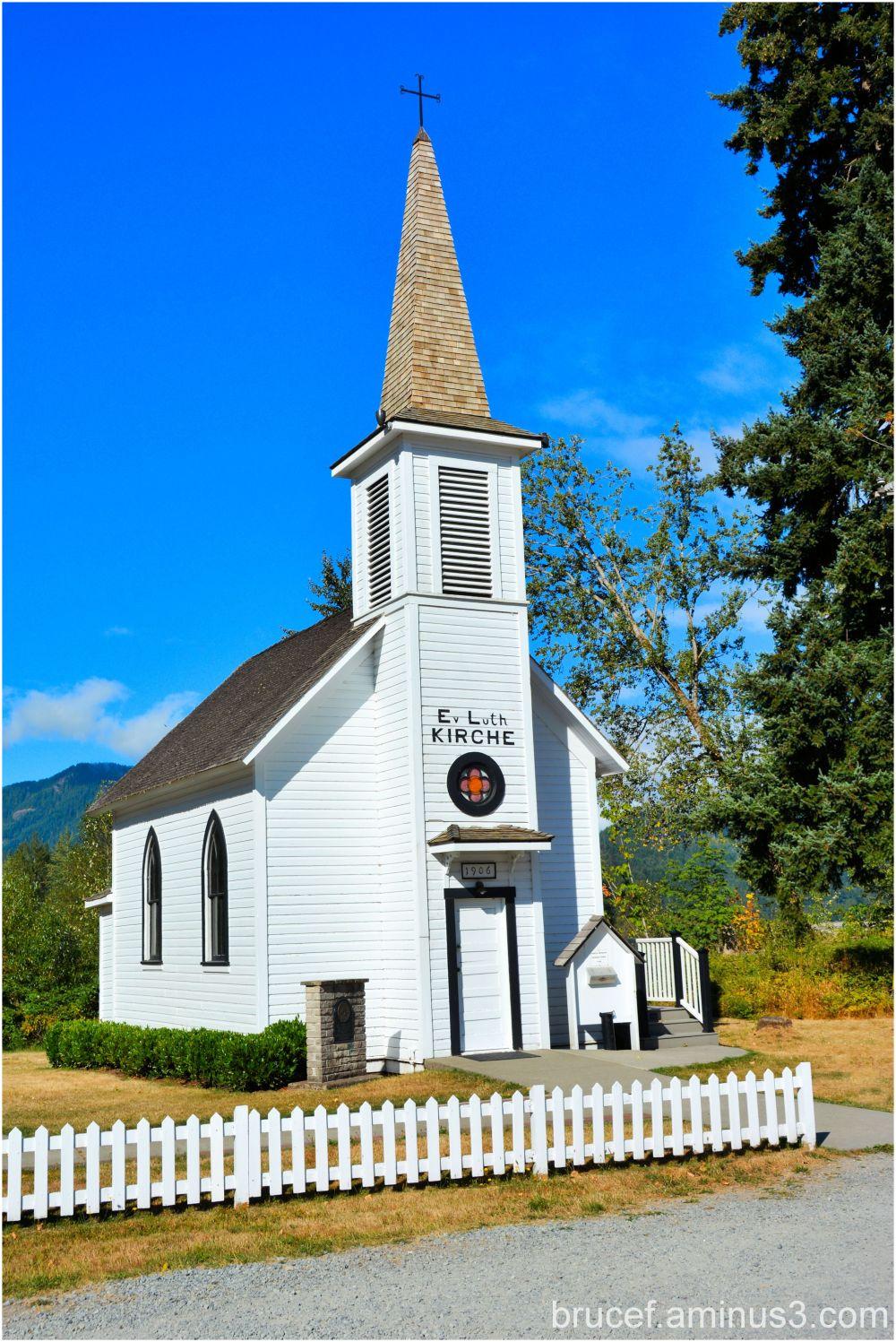 Little White Church of Elbe WA