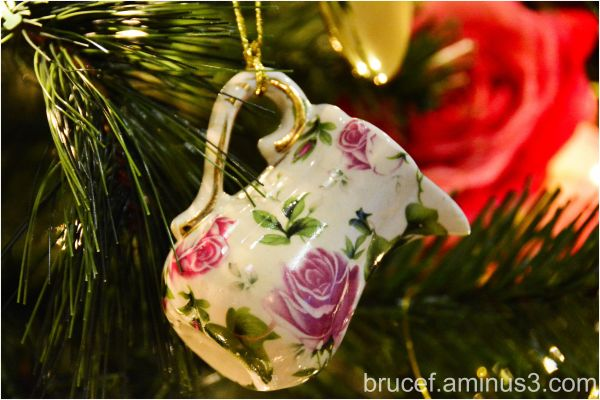 Christmas Ornaments - Tea Pot