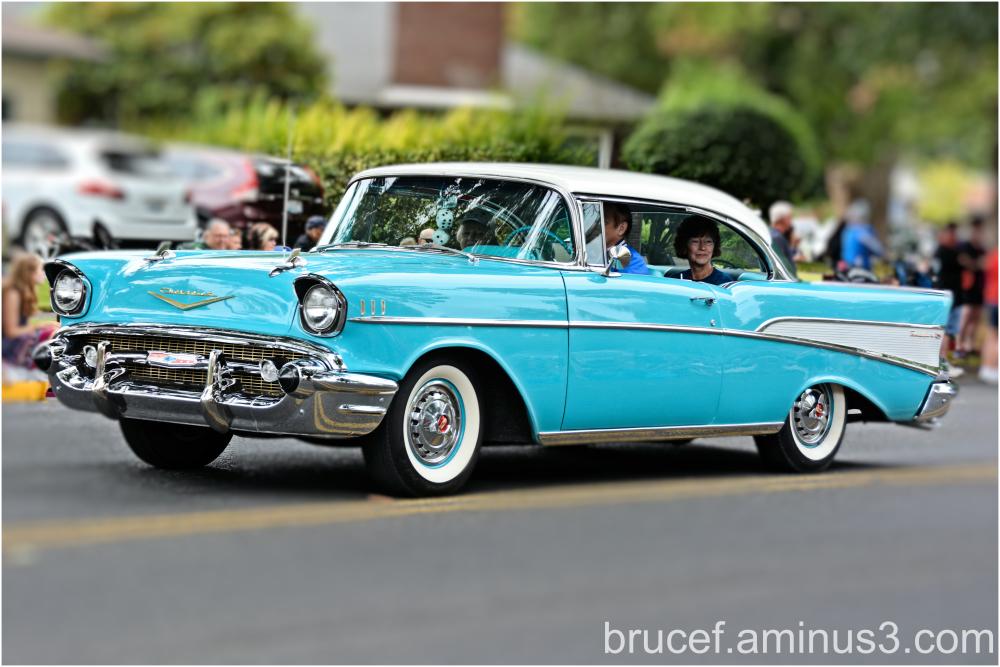 1957 Chev at the Parade