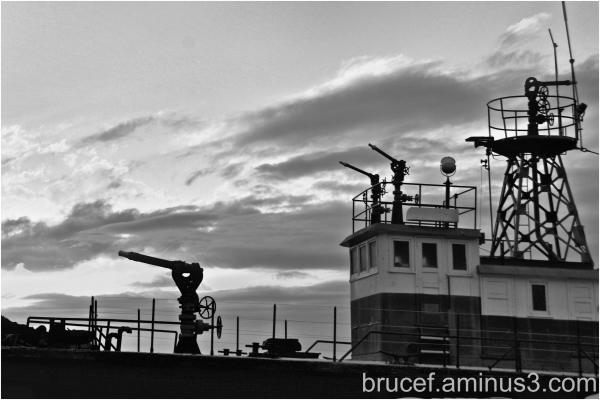 Tacoma Fireboat at Dusk
