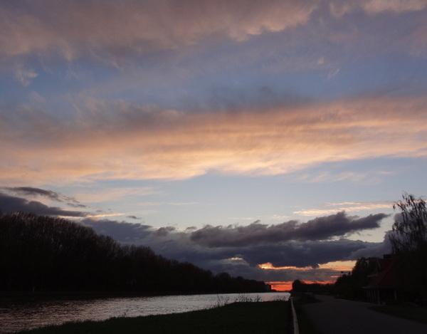 evening walk