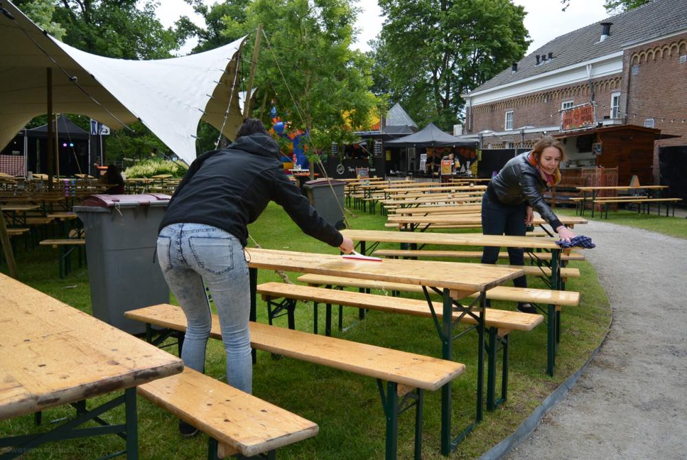 food festival preparations