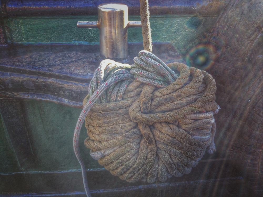 boat detail rope touw