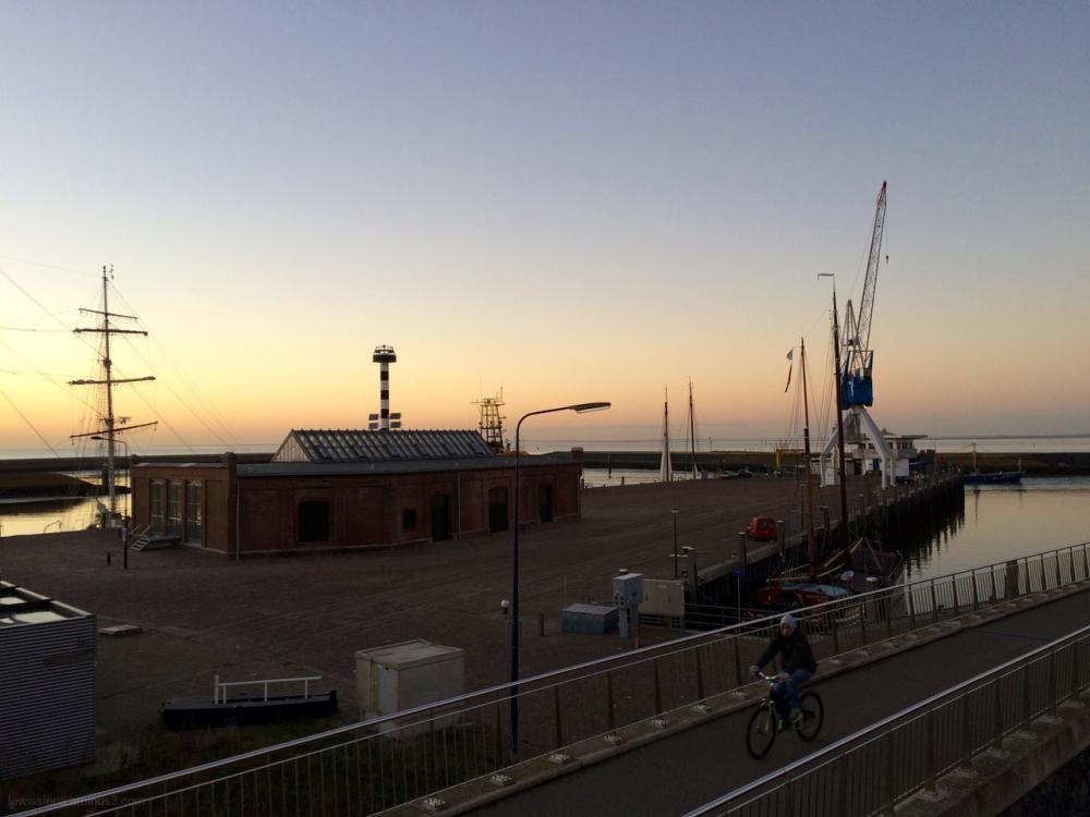 harbour harlingen wadden sea
