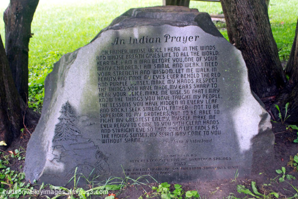 Indian Prayer Rock Memorial