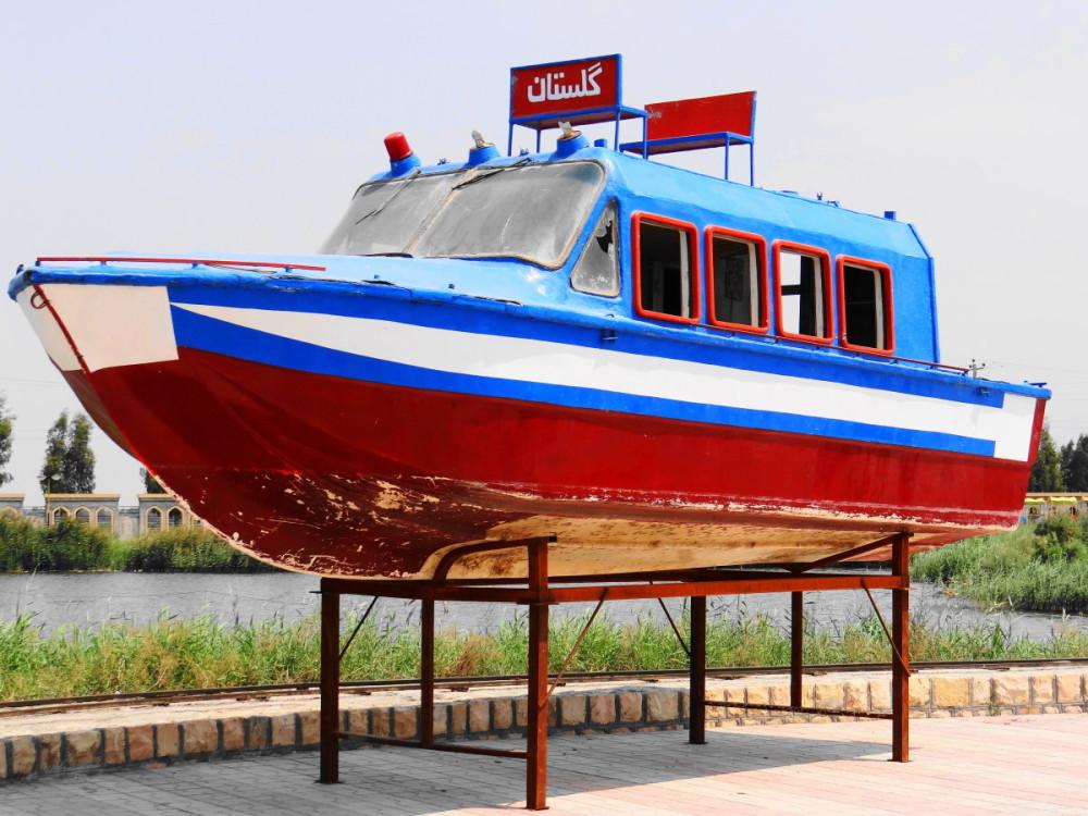 boat sari mazandaran iran