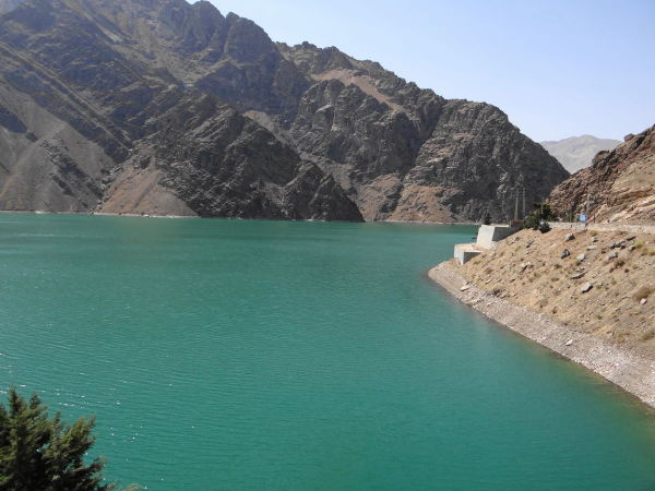 northwest tour iran karaj dam lake