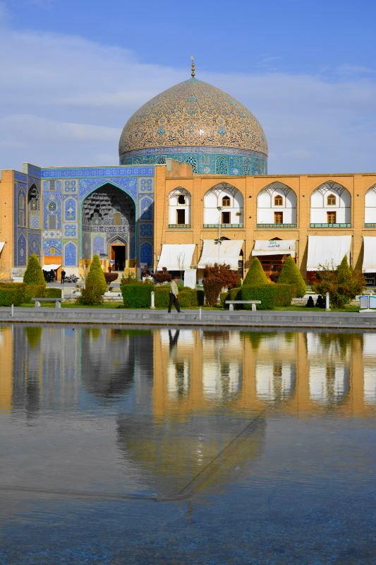 iran isfahan sheikh-lotfolah mosque imam-square