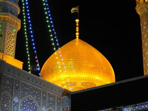 qom shrine زیارتگاه حرم حضرت-معصومه