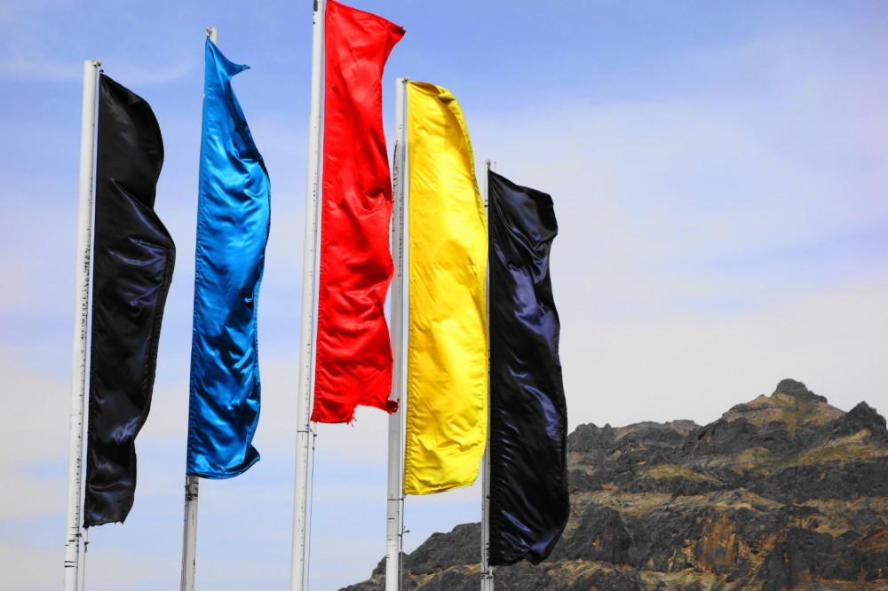 qeshm island persian-gulf flag