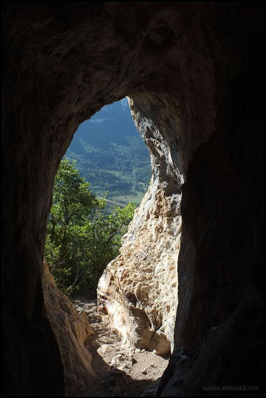 la grotte des Ussets