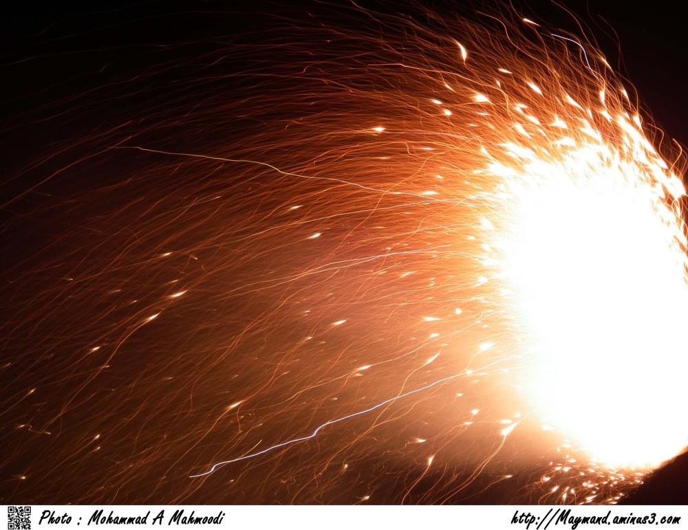 Fireworks (Iranians celebrate)
