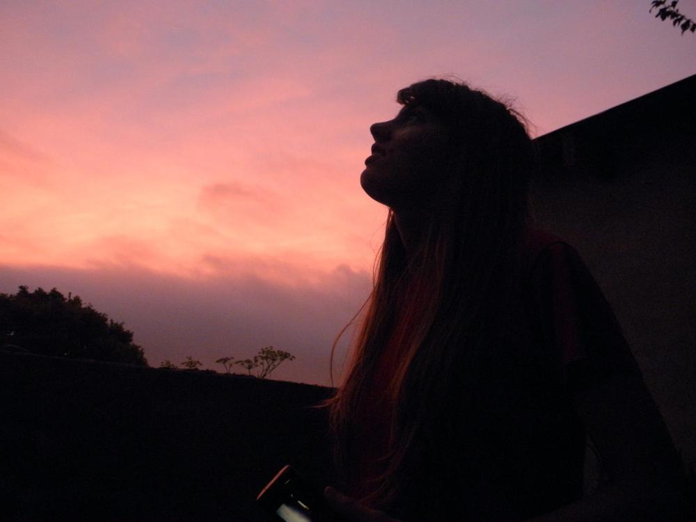 Mirando hacia el espacio