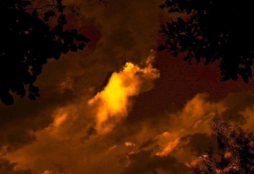 Atardecer con nubes  2 - 4