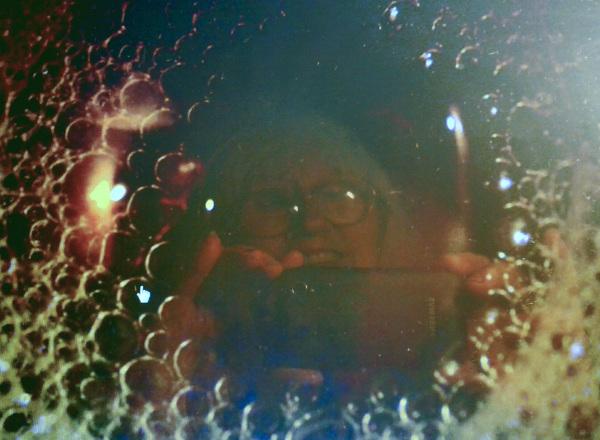 Reflejo en las burbujas