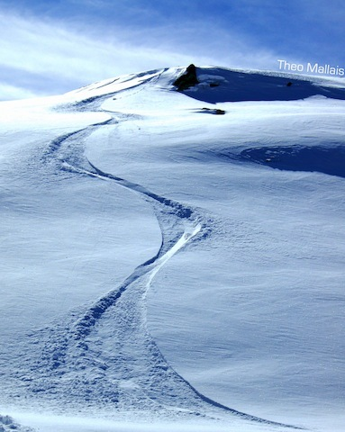 Snow wave alpes d'huez